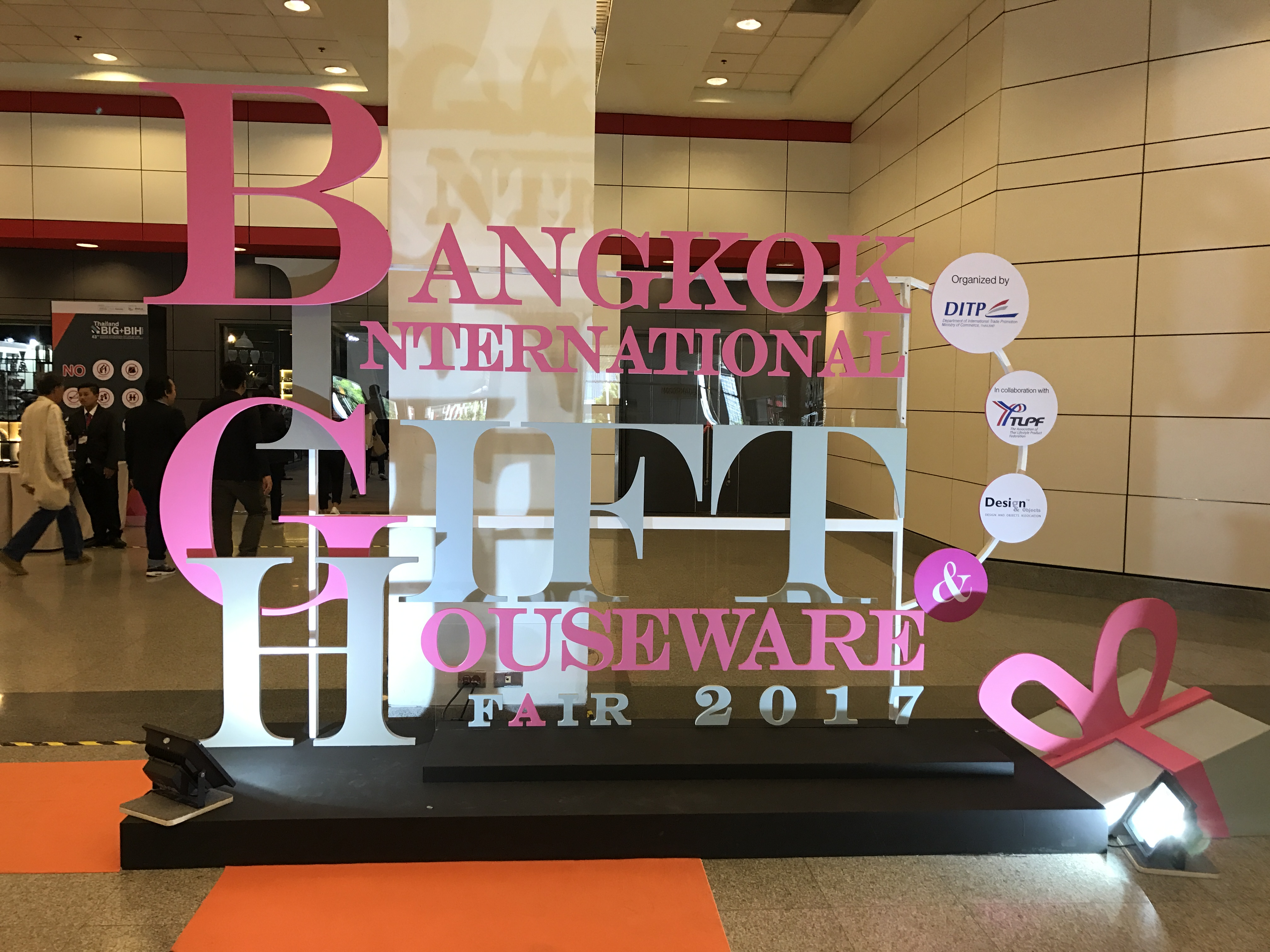 第43回バンコク国際ギフトフェア・バンコク国際家庭用品フェアに行ってきました